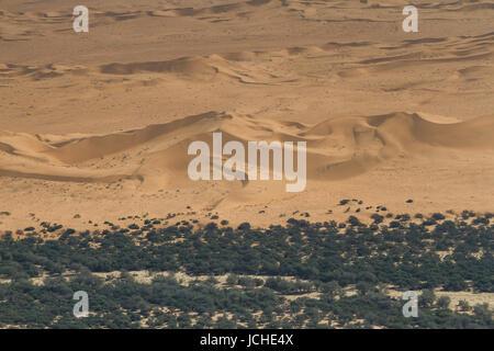 Dunes de sable de la rivière de Swakopmund, Namibie, Afrique Banque D'Images