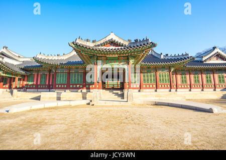 Palais Changdeok à Séoul, Corée du Sud. Banque D'Images