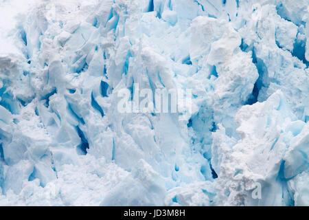Paysage avec l'Antarctique glace bleu iceberg, ice berg, les icebergs. Banque D'Images