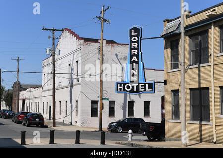 Memphis, TN, USA - 9 juin 2017: Lorraine Motel où le Dr. Martin Luther King Jr. a été assassiné, et maintenant du National Civil Rights Museum