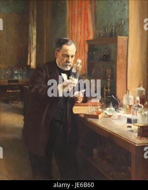 Albert Edelfelt Louis Pasteur - 1885 - Banque D'Images