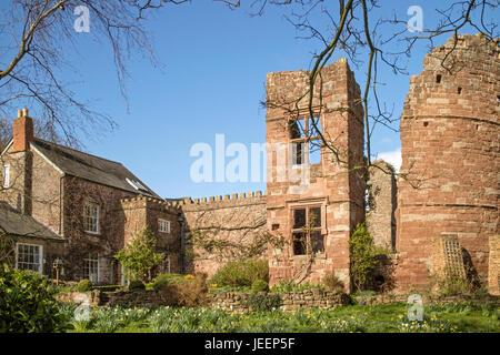 Wilton Château 12ème siècle' Château Normand, près de Ross on Wye, Herefordshire, Angleterre, RU