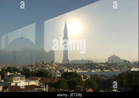 La Turquie, Istanbul, Vieille Ville, Quartier de la ville, Sultanahmet, vue à l'Hagia Sophia, Banque D'Images
