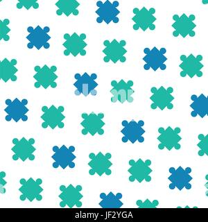 Arrière-plan des pièces de puzzle Banque D'Images