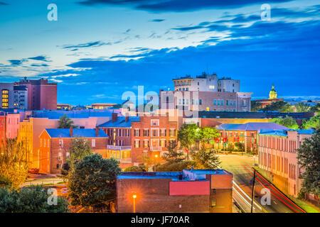 Athens, Georgie, USA Centre-ville paysage urbain. Banque D'Images