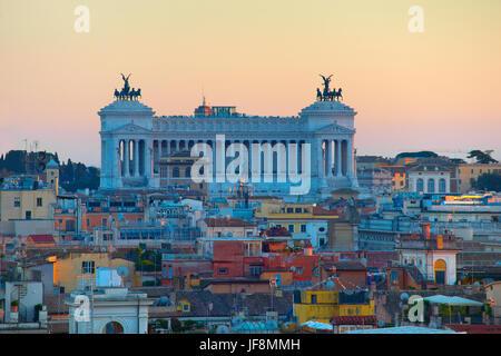 Rome au crépuscule. Italie Banque D'Images