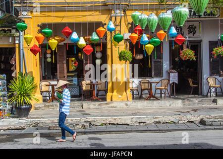Lanternes traditionnelles à Hoi An, Vietnam