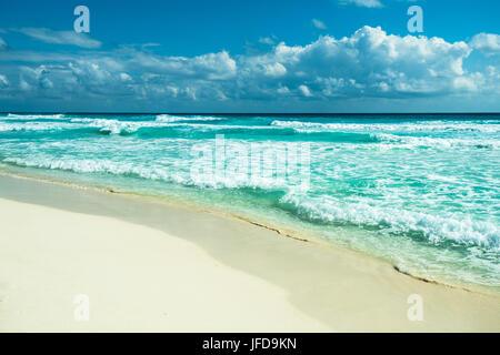 Cancun beach panorama, Mexique