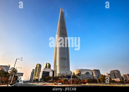 Le plus grand bâtiment à Séoul, Corée du Sud Banque D'Images