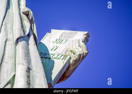 Statue de la liberté à New York Banque D'Images
