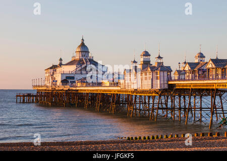 L'Angleterre, l'East Sussex, Eastbourne, Eastbourne Pier Banque D'Images