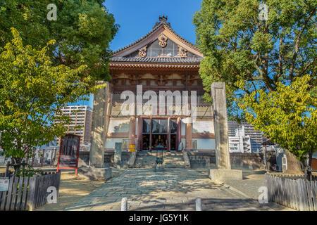 Eirei-do à Toko-dans un sous-temple de Temple Shitennoji à Osaka, Japon Banque D'Images
