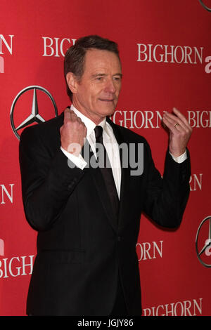 Palm Springs, CA, USA. 2 Jan, 2016. PALM SPRINGS - 2 JAN : Bryan Cranston à la 27e Festival International du Film Banque D'Images