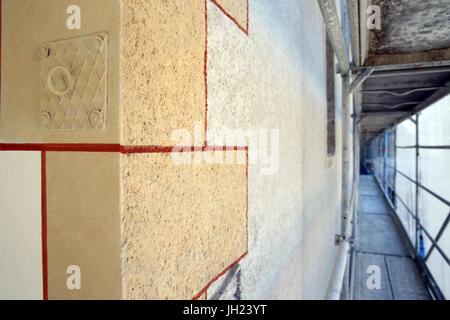 Restauration de l'église baroque de Saint Gervais. La France. Banque D'Images