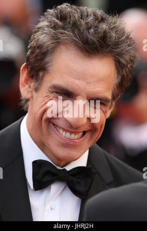 Ben Stiller assiste à la Meyerowitz Stories projection pendant le Festival du Film de Cannes 70e congrès annuel Banque D'Images