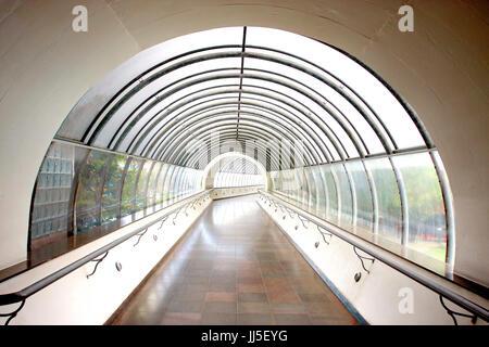 Tunnel, couloir, passage, chemin, voie, Brésil Banque D'Images