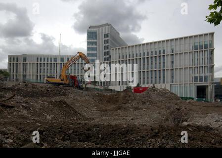 Glasgow, Ecosse, Royaume-Uni. Jul 20, 2017. Aujourd'hui, la ville de Glasgow College's new city campus a été sélectionné Banque D'Images