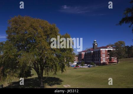 USA, Ohio, Tuskeegee Tuskeegee, Lieu historique national de l'Institut, l'Université d'origine afro-américaine majeure fondée par Booker T., campus de Washington