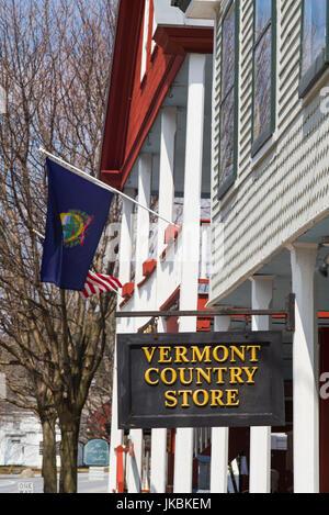 USA, Weston, le Vermont Country Store, extérieur