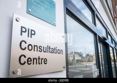 L'indépendance personnelle ( PIP ) Paiements Centre de Consultation, Southampton, Hampshire, Royaume-Uni Banque D'Images