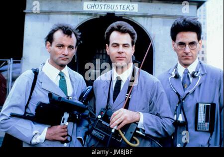Bill Murray, harold ramis, dan aykroyd, Ghostbusters II, 1989 Banque D'Images