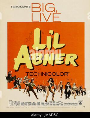 Li'l Abner 1959 Paramount Pictures comédie musicale avec Julie Newmar