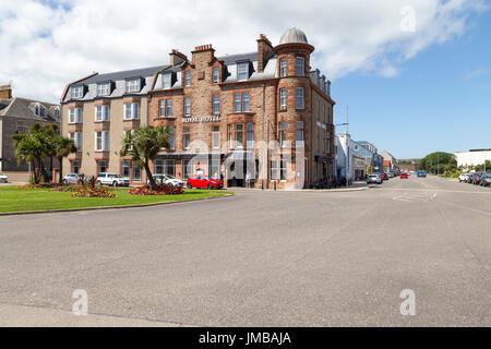 L'hôtel Royal, Campbeltown, péninsule de Kintyre, côte ouest de l'Ecosse, Royaume-Uni Banque D'Images