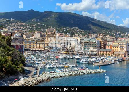Bastia, Haute-Corse, Corse, France Banque D'Images