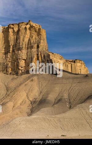 Badlands, abaisser, Blue Hills, Utah Hanksville Banque D'Images