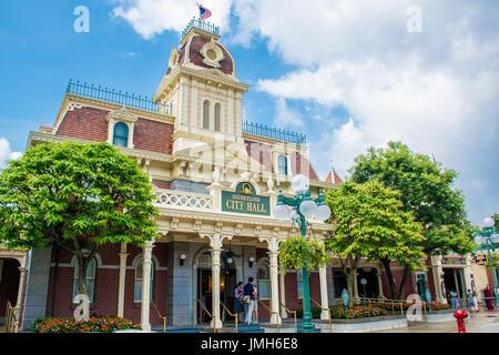 L'Hôtel de Ville de Disneyland, Hong Kong Disneyland