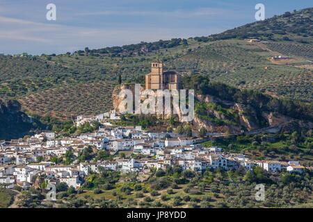 Espagne, Andalousie, Granada Région Province, Montefrio, Ville