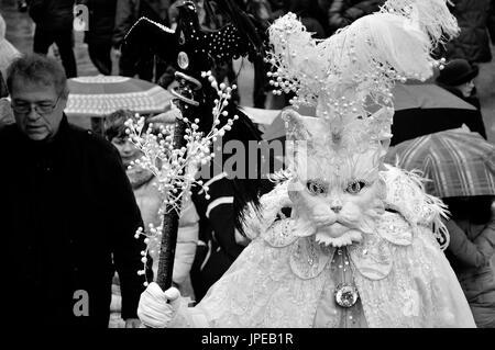 Carnaval de Venise masque de fonctionnalités. Italie