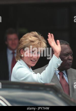 31 août 2017 marque 20 ans depuis la mort de la princesse Diana. La princesse Diana meurt de blessures graves dans les premières heures du 31 août 1997 après un accident de voiture à Paris. Sur la photo: May 06, 1997; Londres, Angleterre, Royaume-Uni; la Princesse DIANA Branimir Kvartuc Crédit:/ZUMAPRESS.com/Alamy Live News