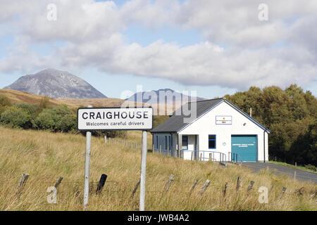 La station de sauvetage, Isle of Jura Banque D'Images