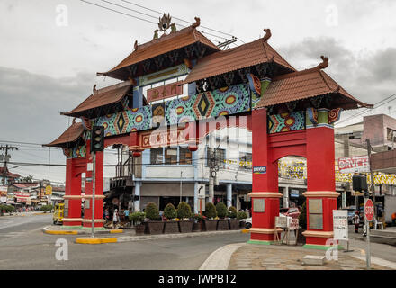 La ville de Davao City, Philippines Banque D'Images