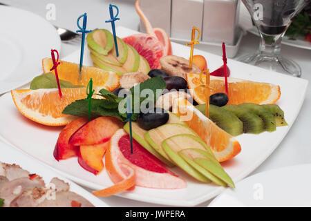 Sélection rafraîchissante de fruits d'été