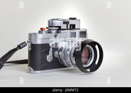 Leica M3. Appareil-photo de film classique. Années 50 vintage Banque D'Images