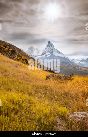 Cervin Zermatt, Suisse Banque D'Images