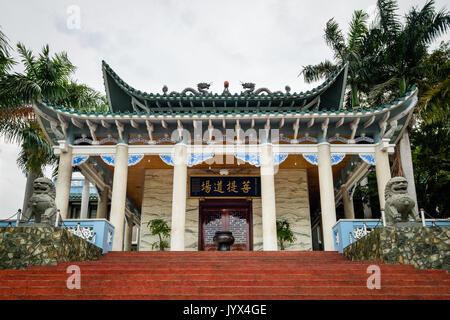 Long Hua temple à Davao City - Philippines Banque D'Images