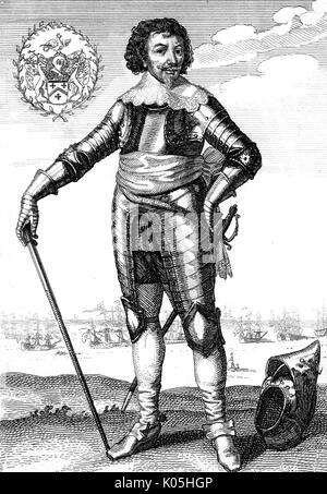 Sir Robert RICH, second comte de Warwick commandant naval, en particulier dans les Amériques Date: 1587-1658