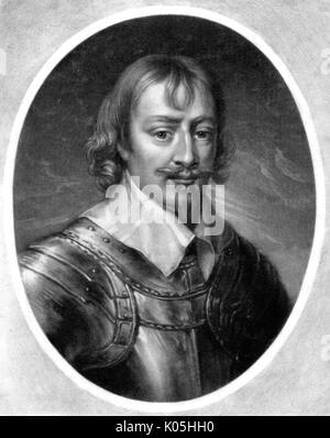 Sir Robert Rich (1587-1658), second comte de Warwick commandant naval, en particulier dans les Amériques Date: