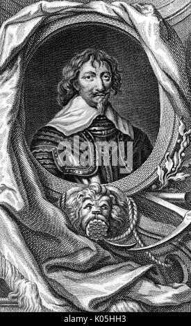 Sir Robert Rich (1587-1658), second comte de Warwick commandant naval, en particulier dans les Amériques Date: 1750