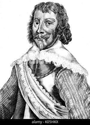 Sir Robert Rich (1587-1658), second comte de Warwick grand amiral de la mer Date: