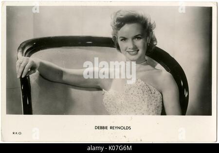 Debbie Reynolds (1932 - 2016), (Mary Frances Reynolds) American TV et film actrice Date: