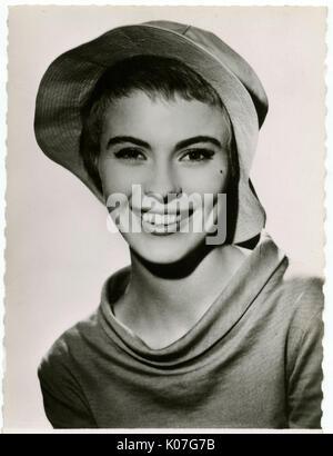Jean Seberg (1938 - 1979), actrice américaine, également dans les films français Date: