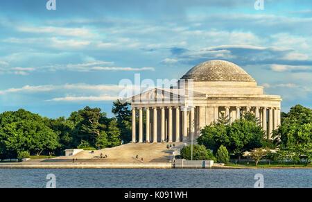Le Jefferson Memorial, un Memorial à Washington, D.C.
