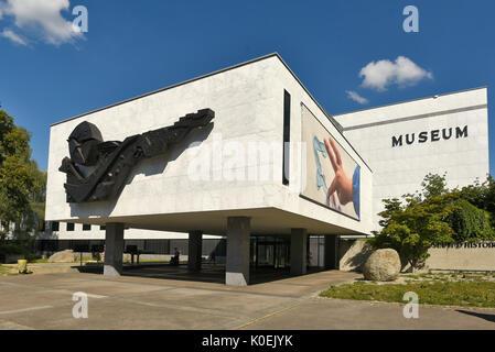 Genève Suisse Musée d'HistoryFour étages d'expositions à travers le monde la faune alpine et locales; les animaux de tous les continents