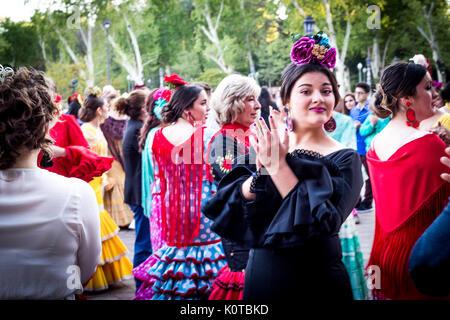 Feria de Abril Banque D'Images
