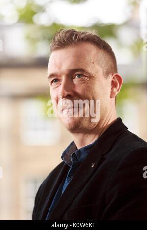 Édimbourg, Écosse 25 août. Jour 14 Edinburgh International Book Festival. Sur la photo: David Mitchell, écrivain romancier. Credit: Pako Mera/Alamy Live News