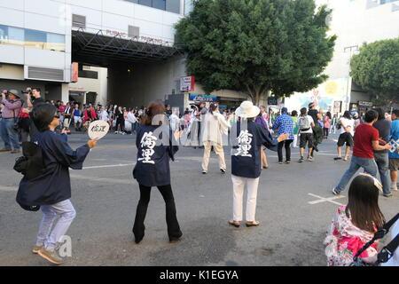 Los Angeles, USA. 27 août, 2017. Superbe Nisei Week Festival cérémonie de clôture le 27 août 2017 à Little Tokyo, Banque D'Images